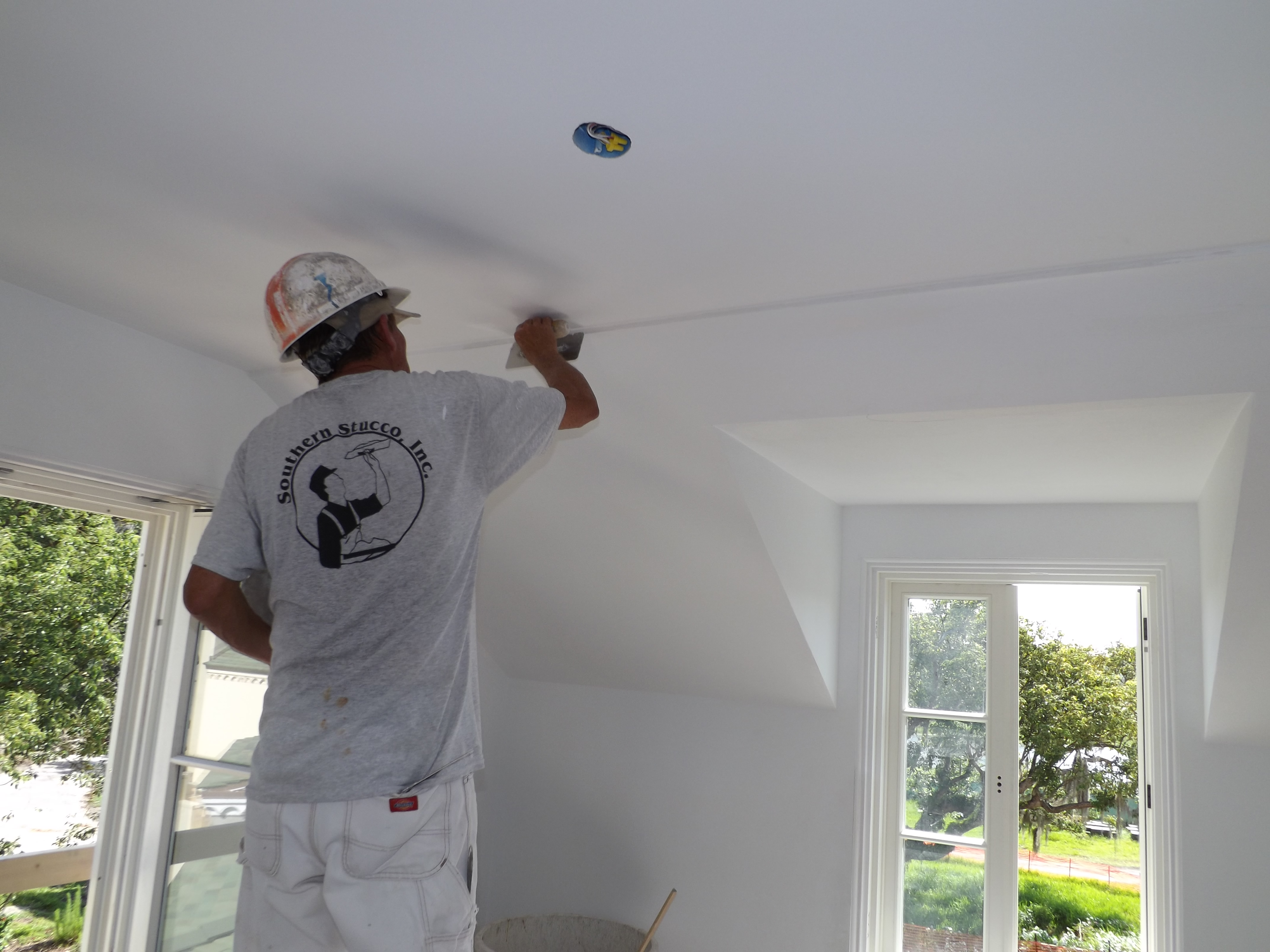 Application Of Smooth Textured Interior Plaster